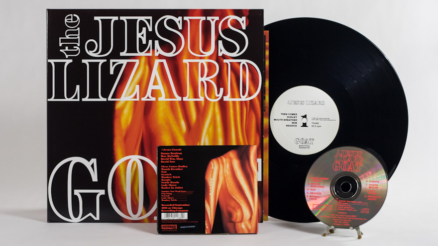 The Jesus Lizard – Goat [reissue]
