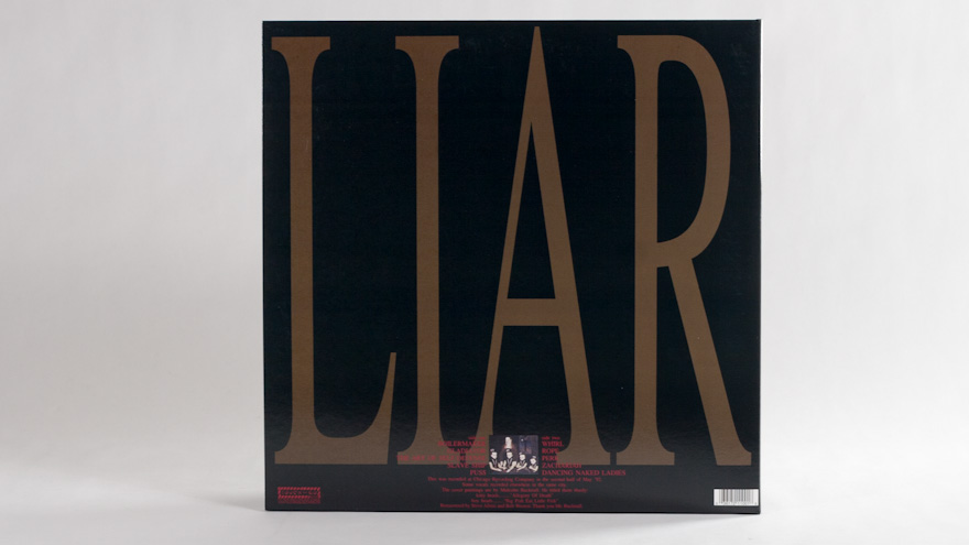 The Jesus Lizard – Liar [reissue]