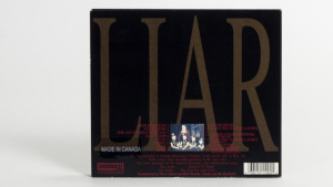 The Jesus Lizard - Liar digipac back