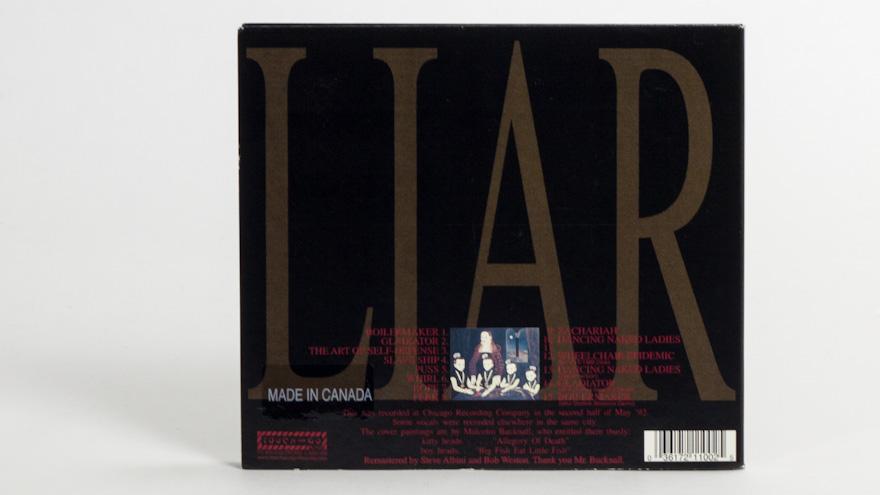 The Jesus Lizard – Liar [reissue]