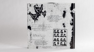 Black Heart Procession LP innersleeve back for Three