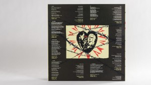 The Black Heart Procession's The Spell LP innersleeve back cover