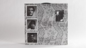 Blonde Redhead, Fake Can Be Just As Good LP innersleeve back