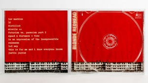 Blonde Redhead - In An Expression Of The Inexpressible cd jewel case gatefold