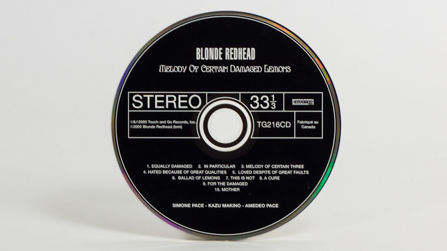 Blonde Redhead – Melody of Certain Damaged Lemons