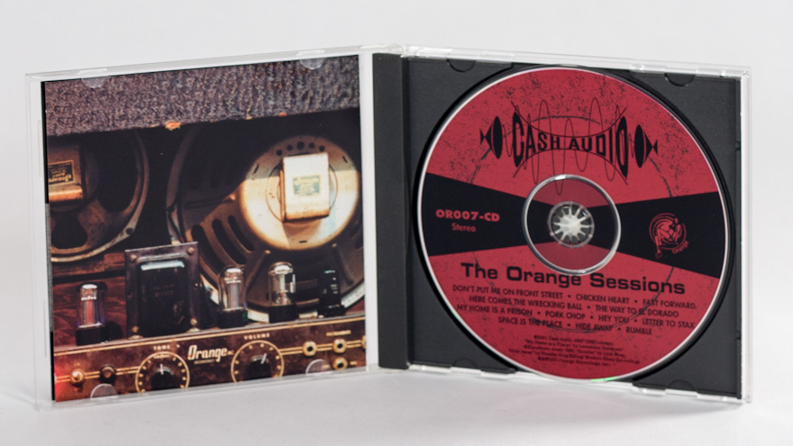 Cash Audio – The Orange Sessions