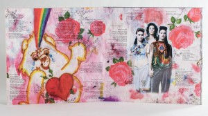 CocoRosie - Noah's Ark LP jacket centerfold