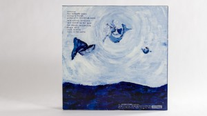 Dirty Three - Ocean Songs lp jacket back cover