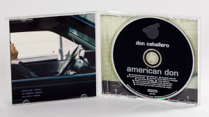 Don Caballero - American Don cd jewel case gatefold