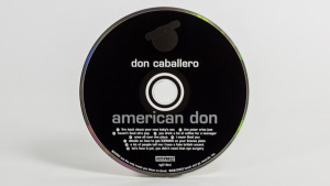 Don Caballero - American Don CD face