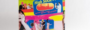 Enon - High Society LP front cover