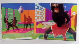 Enon - High Society LP jacket gatefold