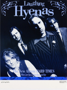 Laughing Hyenas - Hard Times poster