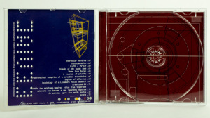 Man Or Astro-Man - EEVIAC CD jewel case gatefold