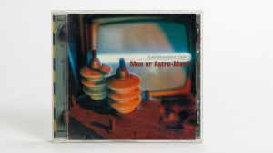 Man Or Astro-Man? - Experiment Zero cd jewel case cover
