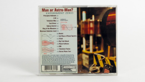 Man Or Astro-Man? - Experiment Zero cd jewel case back