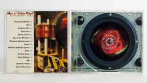 Man Or Astro-Man? - Experiment Zero cd jewel case gatefold