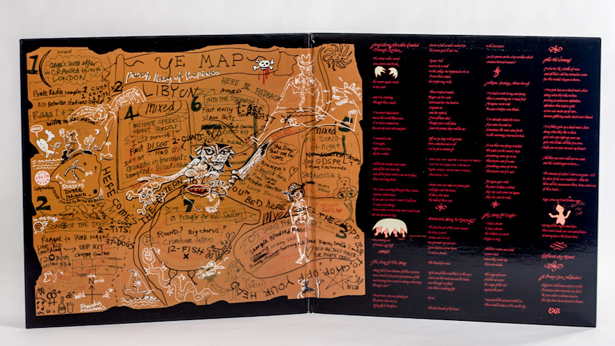 Mekons & Kathy Acker – Pussy, King Of The Pirates