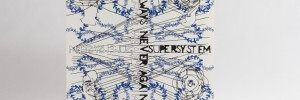 Supersystem - Always Never Again LP front cover