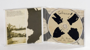 Calexico - The Book And The Canal cd jewel case gatefold