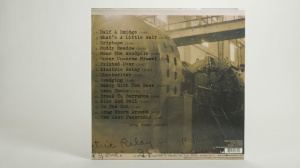 Calexico - The Book And The Canal lp jacket cover back