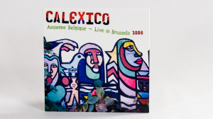 Calexico - Ancienne Belgique CD sleeve side A