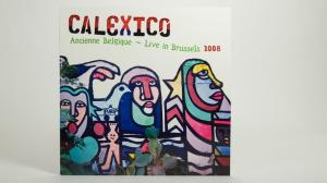 Calexico - Ancienne Belgique LP jacket front