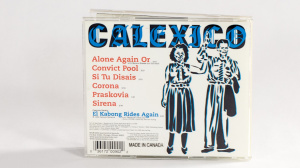 Calexico - Convict Pool CD jewel case back