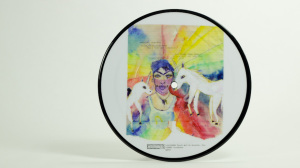 CocoRosie - God Has A Voice She Speaks Through Me Picture Disk B Side