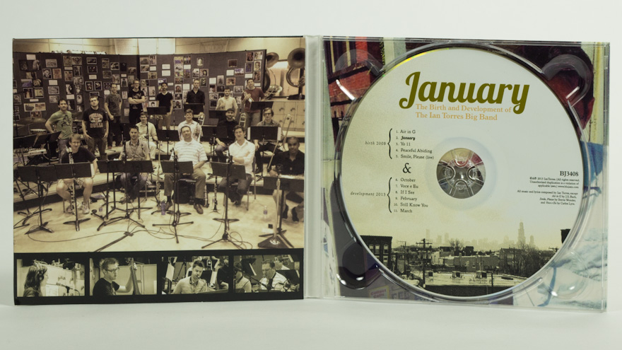The Ian Torres Big Band – January