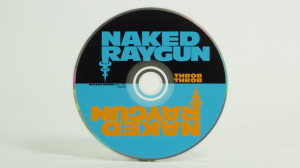 Naked Raygun - Throb Throb cd face