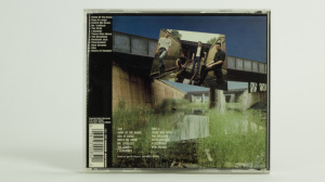 Naked Raygun - All Rise cd jewel case back
