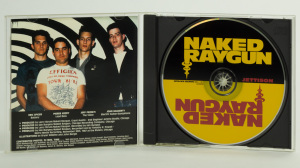 Naked Raygun - Jettison CD jewel case gatefold