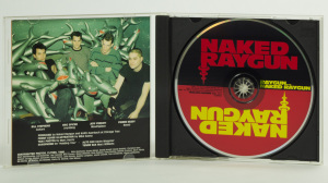 Naked Raygun - Raygun...Naked Raygun CD jewel case gatefold
