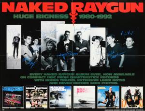 Naked Raygun - Huge Bigness Promo poster