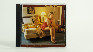 Sally Timms - In the world of him CD front cover