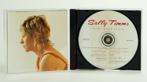 Sally Timms - In the world of him CD Gatefold