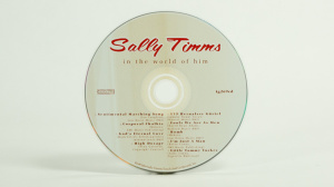 Sally Timms - In the world of him CD face