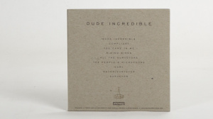 Shellac - Dude Incredible CD sleeve back