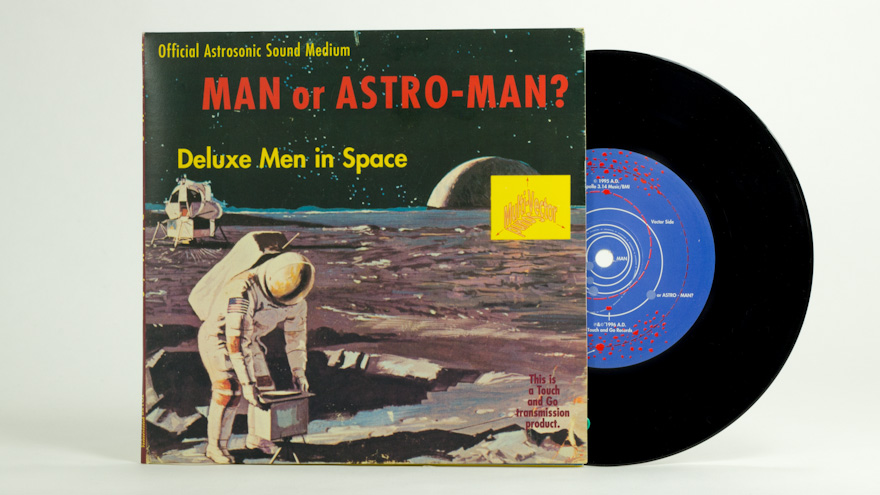 Man Or Astro-Man? – Deluxe Men In Space