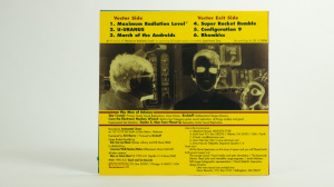 Man Or Astro-Man? - Deluxe Men In Space sleeve back cover