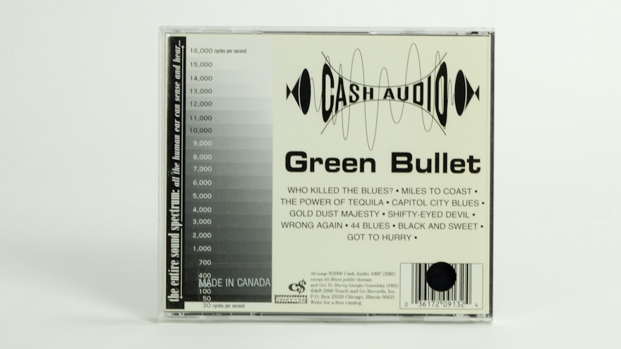 Cash Audio – Green Bullet