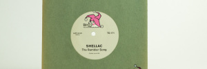 Shellac/Mule split Soul Sound single seven inch front cover