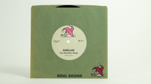 Shellac/Mule split Soul Sound single seven inch front cover