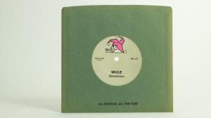 Shellac/Mule split Soul Sound single seven inch back cover