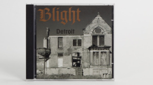 Blight - Detroit:The Dream Is Dead - The Collected Works of a Midwest Hardcore Noise Band 1982 CD jewel case cover