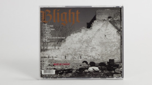 Blight - Detroit:The Dream Is Dead - The Collected Works of a Midwest Hardcore Noise Band 1982 CD jewel case back