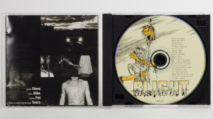 Blight - Detroit:The Dream Is Dead - The Collected Works of a Midwest Hardcore Noise Band 1982 CD jewel case gatefold