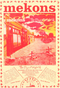 Mekons - The Edge Of The World poster