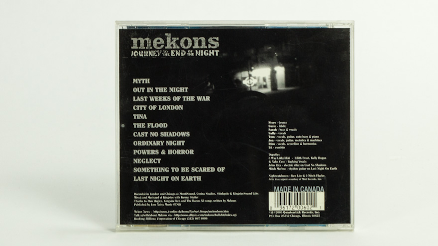 Mekons – Journey To The End Of The Night